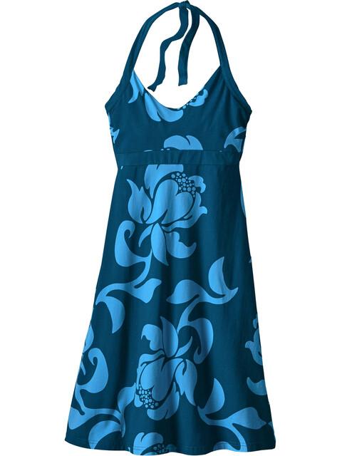 Patagonia Iliana Halter jurk Dames blauw